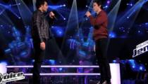 """Replay """"The Voice"""" : la battle entre Amir et François Lachance sur « Radioactive » d'Imagine Dragons (vidéo)"""
