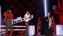 """Replay """"The Voice"""" : La Battle Ketlyn / Olympe / David sur « Toute la musique que j'aime » (vidéo)"""