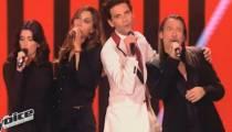 """""""The Voice"""" : Zazie, Jenifer, Mika et Florent Pagny reprennent """"Rue de la Paix"""" (vidéo)"""