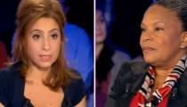 """Replay : échange musclé entre Christiane Taubira et Léa Salamé dans """"On n'est pas couché"""" (vidéo)"""