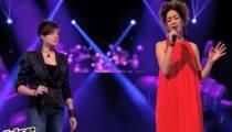 """""""The Voice"""" : 1ères images de la Battle entre Najwa et Elodie samedi soir sur TF1"""