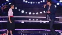 """Replay """"The Voice"""" : Battle Nathalia / Valentin Stuff « Je te pardonne » de Maître Gims (vidéo)"""