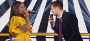 "Replay ""The Voice"" : duel Karolyn/ Edouard Edouard « J't'emmène au vent » (vidéo)"