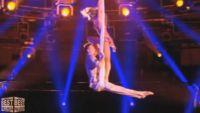 """""""The Best"""" : 1ères images de Dasha & Vadym sur leur tissu aérien ce soir sur TF1 (vidéo)"""