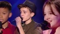 """Replay """"The Voice Kids"""" : les prestations de Enzo, Eddy et Chiara (vidéo)"""