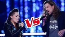 """Replay """"The Voice"""" : La Battle Jérémie / Julie Moralles « Chanter » de Florent Pagny (vidéo)"""