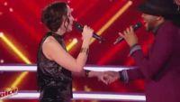 """Replay """"The Voice"""" : Battle Candice Parise / R'Nold « The One's For You » de David Guetta (vidéo)"""