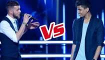 """Replay """"The Voice"""" : La Battle Claudio / Laurent Pierre « Mathilde » de Jacques Brel (vidéo)"""