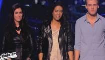 """Replay """"The Voice"""" : l'épreuve ultime entre Claudia Costa, Charlie et Alexia Rabé (vidéo)"""