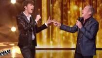 """Replay """"The Voice"""" : Antoine & Garou chantent « My Way » de Franck Sinatra en finale (vidéo)"""