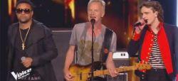 "Replay ""The Voice"" : Xam Hurricane, Sting & Shaggy chantent « Englishman in New-York » en finale (vidéo)"