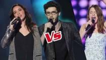 """Replay """"The Voice"""" : l'épreuve ultime de Lola BaÏ, Alexandre et Luna (vidéo)"""