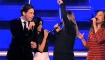 """""""The Voice"""" : début des battles, les coachs interprètent """"Come Together"""" des Beatles (vidéo)"""