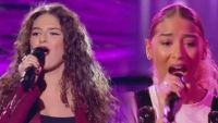"Replay ""The Voice"" : l'audition finale de Djeneva, Mennel et Tiphaine SG (vidéo)"