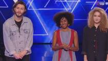 "Replay ""The Voice"" : l'audition finale d'Ecco, Yvette et Billy Boguard  (vidéo)"