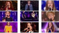 """Replay """"The Voice Kids"""" samedi 26 août : voici les 9 jeunes talents sélectionnés (vidéo)"""