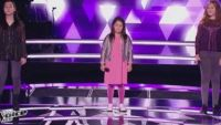 """Replay """"The Voice Kids"""" : battle Swing / Monica / Cassidy sur « Destin » de Céline Dion (vidéo)"""