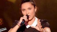 """Replay """"The Voice"""" : Camille Esteban chante « Dans le Noir » de Diam's (vidéo)"""