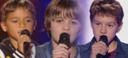 "Replay ""The Voice Kids"" : les prestations de Kamil, Thomas & Antoine (vidéo)"
