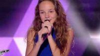 """Replay """"The Voice Kids"""" : Clarisse chante « Imagine » de John Lennon (vidéo)"""