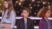 """Replay """"The Voice Kids"""" : battle Lou / Cyril / Dylan sur « Donne moi le temps » de Jenifer (vidéo)"""