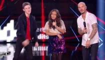 "Replay ""The Voice Kids"" : M Pokora, Betyssam & Antoine « Feels » (vidéo)"