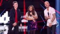 "Replay ""The Voice Kids"" : M Pokora, Betyssam & Antoine « Feels » (vidéo)"