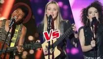"""Replay """"The Voice"""" : l'épreuve ultime de Tamara, Mélodie Pastor et Louisa Rose (vidéo)"""