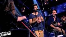 "Replay ""The Voice"" : la battle Quentin / Fréro Delavega sur « Il y a » de Vanessa Paradis (vidéo)"