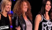 """Replay """"The Voice"""" : regardez l'épreuve ultime entre Julie Erikssen / Ginie Line & Julie Erikssen (vidéo)"""
