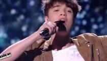 """Replay """"The Voice"""" : Antoine interprète « Casser la voix » de Patrick Bruel (vidéo)"""