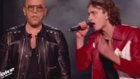 "Replay ""The Voice"" : Xam Hurricane & Pascal Obispo chantent « La bombe humaine » en finale (vidéo)"