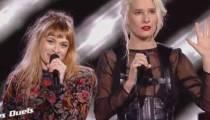 """Replay """"The Voice"""" : duel B. Demi-Mondaine / Luna Gritt « Sweet dreams » d'Eurythmics (vidéo)"""