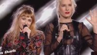 "Replay ""The Voice"" : duel B. Demi-Mondaine / Luna Gritt « Sweet dreams » d'Eurythmics (vidéo)"