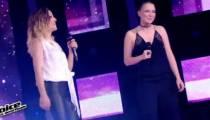 """Replay """"The Voice"""" : Camille Lellouche & Anne Sila « Destin » de Céline Dion (vidéo)"""