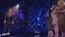 """Replay """"The Voice"""" : duel JAT/ Betty Patural « Désenchantée » de Mylène Farmer (vidéo)"""