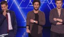 "Replay ""The Voice"" : l'audition finale de Luca, Anto et Edouard Edouard  (vidéo)"