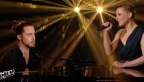 """Replay """"The Voice"""" : Anne Sila & Julien Doré chantent « Paris-Seychelles » en finale (vidéo)"""