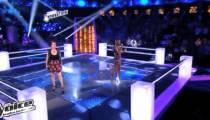 """""""The Voice"""" : regardez la 1ère battle entre Manon & Ayelya de l'équipe Jenifer (vidéo)"""