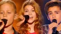 """Replay """"The Voice Kids"""" : les prestations de Tom, Nina & Ayoub (vidéo)"""