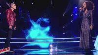 """Replay """"The Voice"""" : Battle Vincent / Andréa Durand « N'importe quoi » de Florent Pagny (vidéo)"""