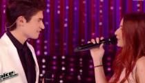 "Replay ""The Voice"" : Hiba Tawaji & David Thibault « Something Stupid » de Robbie Williams (vidéo)"