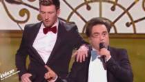 """Replay """"The Voice"""" : Casanova & Frédéric Longbois « La Carioca » (vidéo)"""