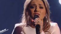 """Replay """"The Voice"""" : Yasmine Ammari chante « Historia de un amor » de Luz Casal (vidéo)"""